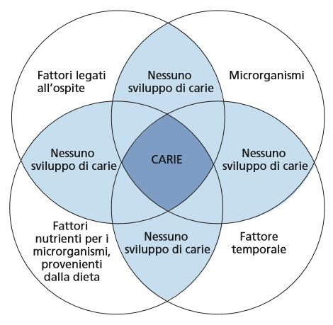 diagramma di Keyes della carie
