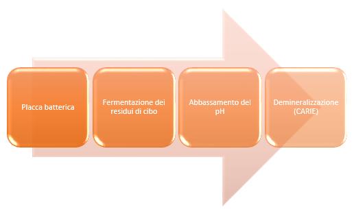 diagramma del cibo