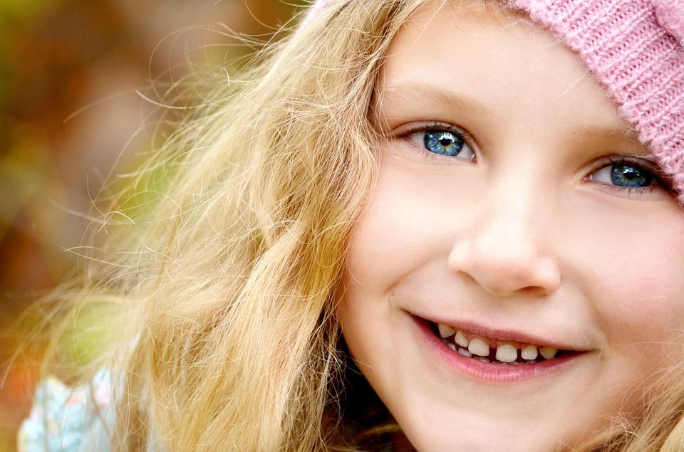 spazio tra i denti nei bambini